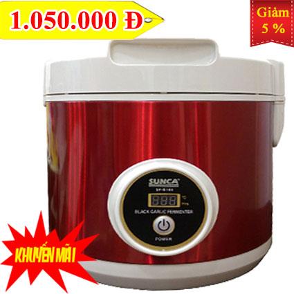 G100 KM - Máy lên men tỏi đen SUNCA SF-G100 màu đỏ