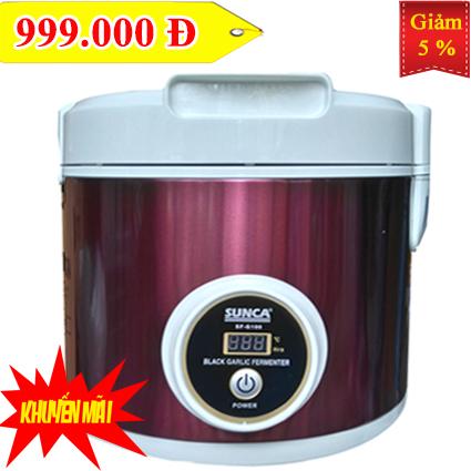 G100 tim KM - Máy ủ tỏi đen SUNCA SF-G100 phiên bản màu tím
