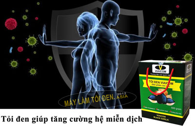 Tỏi đen giúp tăng cường hệ miễn dịch - Công dụng của tỏi đen có tác dụng với sức khỏe thật là kỳ diệu.