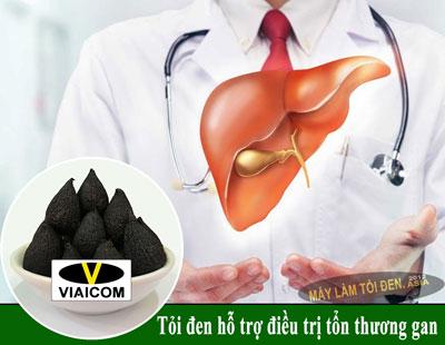 Tỏi đen hỗ trợ điều trị tổn thương gan - Công dụng của tỏi đen có tác dụng với sức khỏe thật là kỳ diệu.