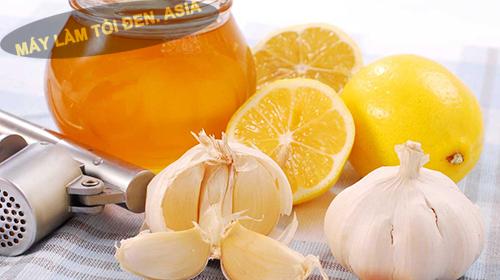 cách sử dụng tỏi ngâm mật ong