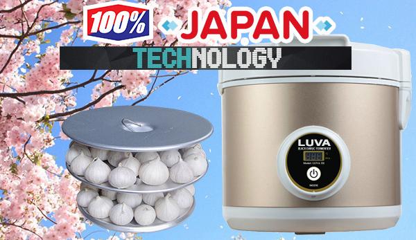 máy ủ tỏi đen công nghệ Nhật Bản