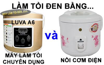 may lam toi va noi com dien - Cách sử dụng máy làm tỏi đen Nhật Bản LUVA A6