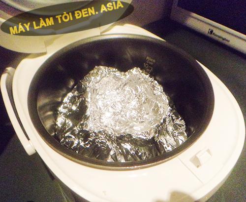 cách nấu tỏi đen