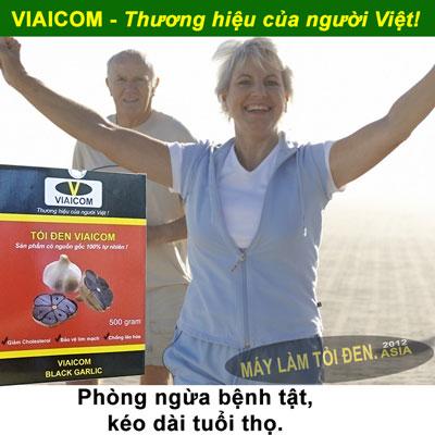 tăng sức đề kháng 2 - Tỏi Đen Cô Đơn SẠCH Xuất Khẩu thương hiệu VIAICOM (250gram)