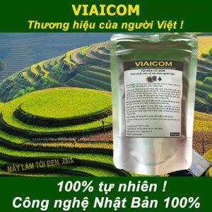 tỏi 100 tự nhiên công nghệ Nhật 300x300 - Tỏi đen cô đơn xuất khẩu VIAICOM - Túi 250gram
