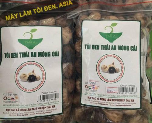 Tỏi đen Thái An