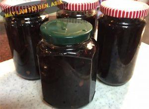 tỏi đen ngâm mật ong