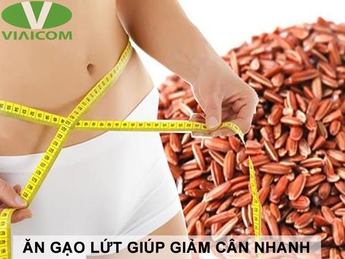 Ăn gạo lứt giúp giảm cân nhanh