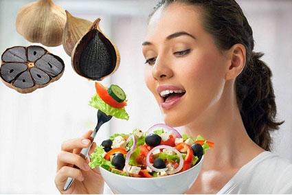 n tỏi đen có tăng cân không thumb - Ăn tỏi đen có tăng cân không?