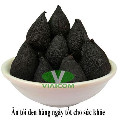 Ăn tỏi đen hàng ngày tốt cho sức khỏe