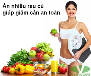 Ăn rau củ giúp giảm cân