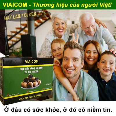 đâu có sức khỏe - Tỏi Đen Cô Đơn Sạch Xuất khẩu VIAICOM (500gram)