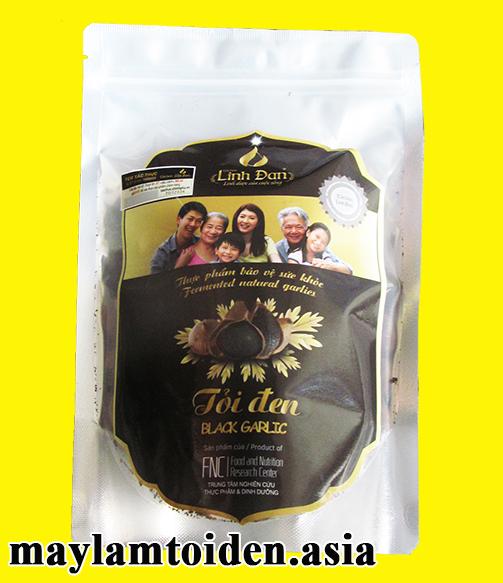 250g asia - Tỏi đen cô đơn Linh Đan FNC SẠCH 250 gram (Túi bạc)