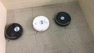 3 con robot hút bụi lau nhà quét nhà tự động tranh nhau ăn hoa tươi. 300x169 - 3 con robot hút bụi lau nhà quét nhà tự động tranh nhau ăn hoa tươi.