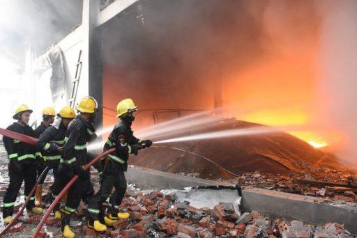 4 7 e1617845006891 - Điểm nóng Myanmar: 7 người biểu tình chết, nhà máy Trung Quốc lại bị đốt phá