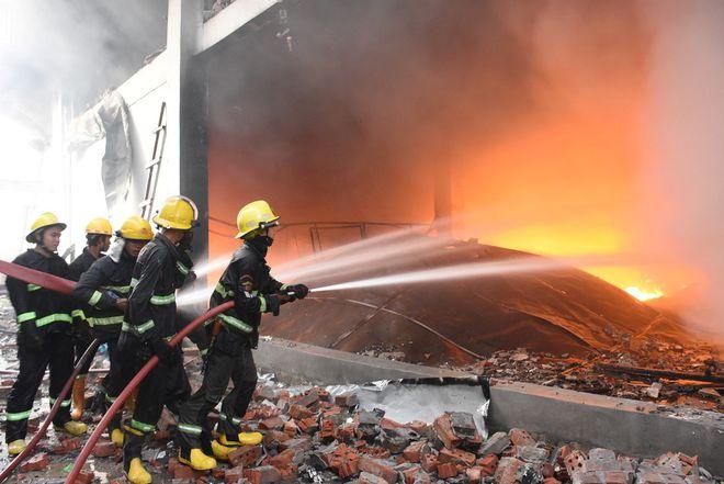4 7 - Điểm nóng Myanmar: 7 người biểu tình chết, nhà máy Trung Quốc lại bị đốt phá