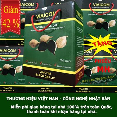 500g thường 1 - Tỏi Đen Cô Đơn Sạch Xuất khẩu VIAICOM (500gram)