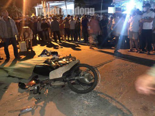 """6 4 e1618017374189 - Quảng Nam: Ôtô """"điên"""" lùa 4 xe máy, 2 người chết, 2 người bị thương"""