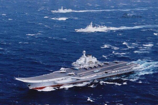 7 - Nhóm tàu sân bay Trung Quốc tập trận gần Đài Loan