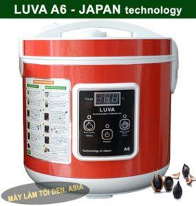 A6 đỏ chụp 2 285x300 - Có nên mua máy làm tỏi đen, nồi làm tỏi đen LUVA không?