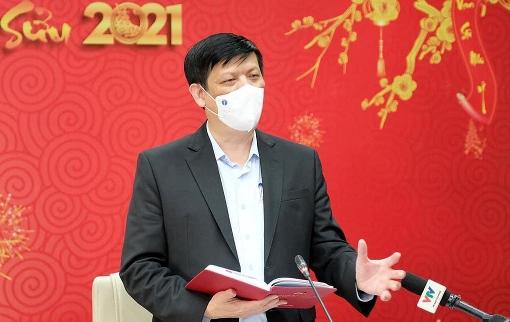 Bo truong Long1 3576 1613708769 - Bộ trưởng Y tế: 'Cuộc chiến Covid-19 không thể kết thúc nửa đầu năm'