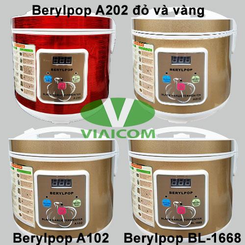 Các loại máy làm tỏi đen Berylpop