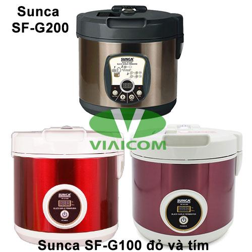 Các loại máy làm tỏi đen Sunca