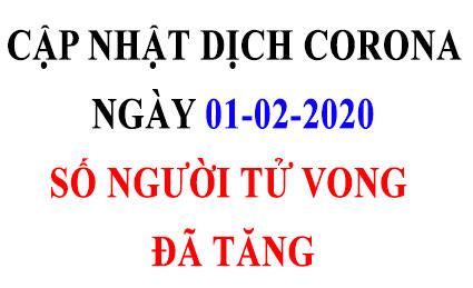 CORONA 1 2 - Ngày 1-2: Trung Quốc đã có 259 người chết vì virus Corona