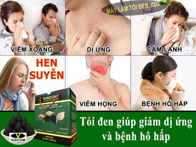 GIẢM DỊ ỨNG asia 1 - công dụng của tỏi đen có tác dụng với sức khỏe thật là kỳ diệu.