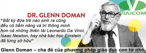 Glenn Doman – cha đẻ của phương pháp giáo dục con từ nhỏ