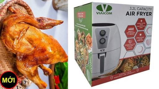 Hãy cùng tôi mở thùng nồi chiên không dầu Viaicom V30 ra kiểm tra xem sao - Hãy cùng tôi mở thùng nồi chiên không dầu Viaicom V30 ra kiểm tra xem sao?