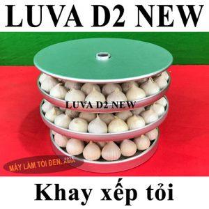 Khay đã xếp tỏi trắng 300x300 - Máy làm tỏi đen CN NHẬT BẢN LUVA D2 (New)