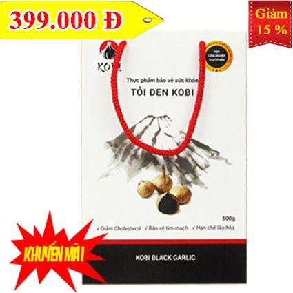 Kobi 500g - Tỏi đen KOBI SẠCH (500 gram)