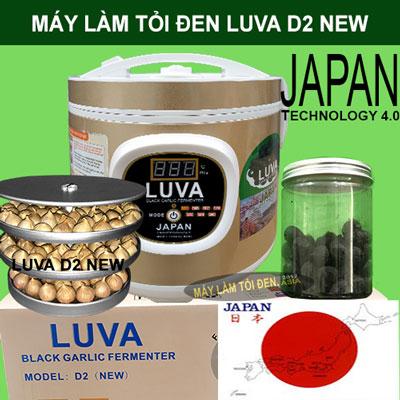 Lọ tỏi đen để trên vỏ thùng 1 1 - Máy làm tỏi đen CN NHẬT BẢN LUVA D2 (New)