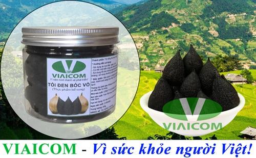 Lọ tỏi đen cô đơn bóc vỏ VIAICOM Vì sức khỏe người Việt - Lọ tỏi đen cô đơn bóc vỏ VIAICOM loại 1