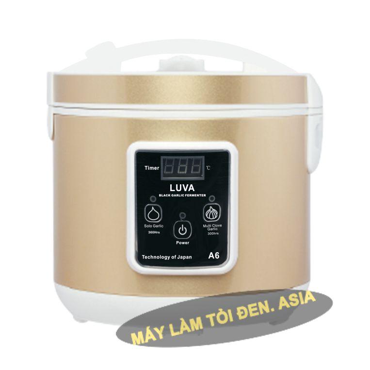 Luva A6 vàng - Nồi hấp tỏi đen tốt nhất hiện nay!