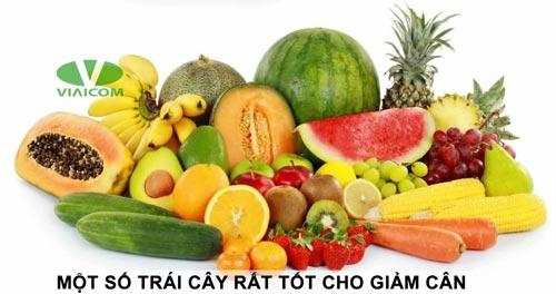 Một số loại trái cây tốt cho giảm cân