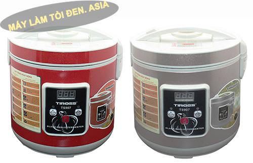 Máy ủ tỏi đen Tiross TS 907 (màu đỏ và màu bạc)