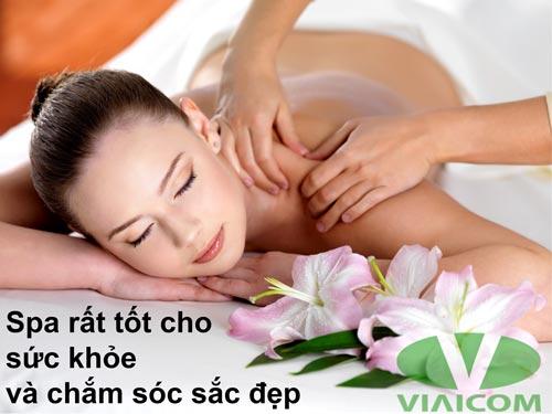 Spa rất tốt cho sức khỏe và chắm sóc sắc đẹp