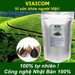 Túi tỏi đen VIAICOM 100g Tự nhiên 100 300x300 - Túi tỏi đen VIAICOM 100g - Tự nhiên 100