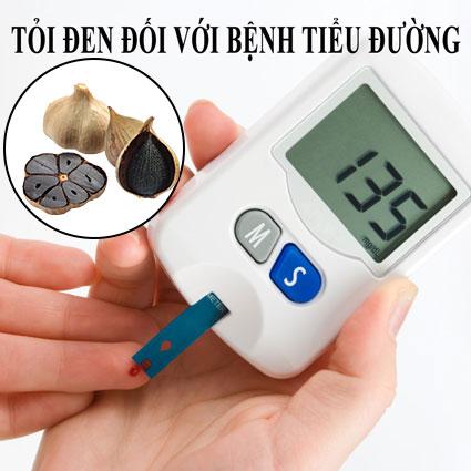 Tỏi đen chữa bệnh tiểu đường