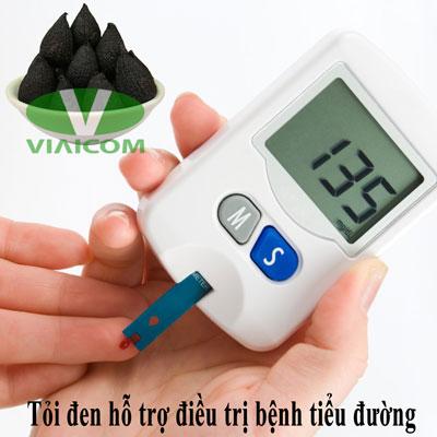 Tỏi đen hỗ trợ điều trị bệnh tiểu đường
