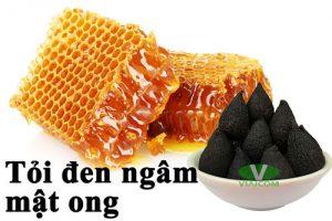 Tỏi đen ngâm mật ong chữa bệnh viêm xoang