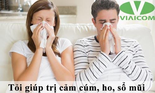 Tỏi giúp trị cảm cúm, ho, sổ mũi