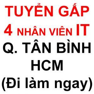 tuyển dụng IT HCM