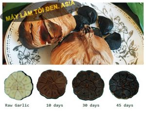 ăn tỏi đen đúng cách