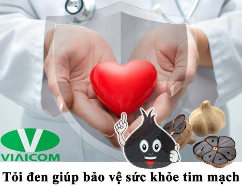 Công dụng của tỏi đen với tim mạch