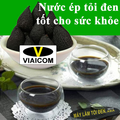 cach lam nuoc ep toi den - công dụng của tỏi đen có tác dụng với sức khỏe thật là kỳ diệu.