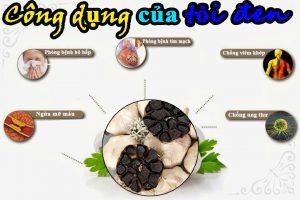 Công dụng của tỏi đen chữa bệnh hiệu quả